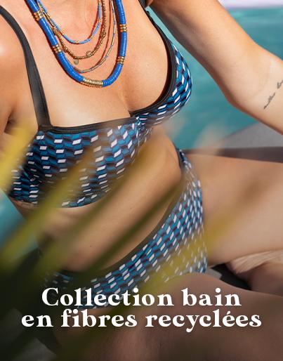 Nouvelle collection de maillots de bain en fibres recyclées pour poitrines généreuses