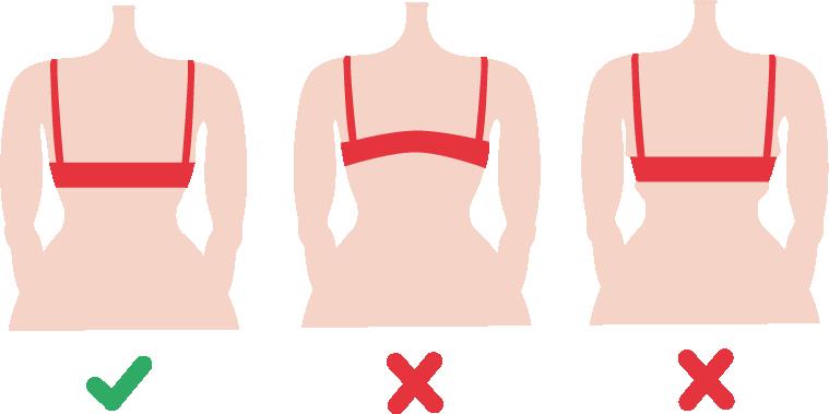 Bien positionner le dos de votre soutien-gorge