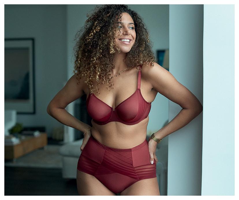 Parure lingerie poitrines généreuses confort modelant Lift Up