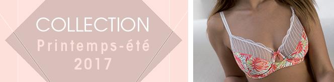 Lingerie grande taille Collection Printemps-été 2017 - Nymphéa