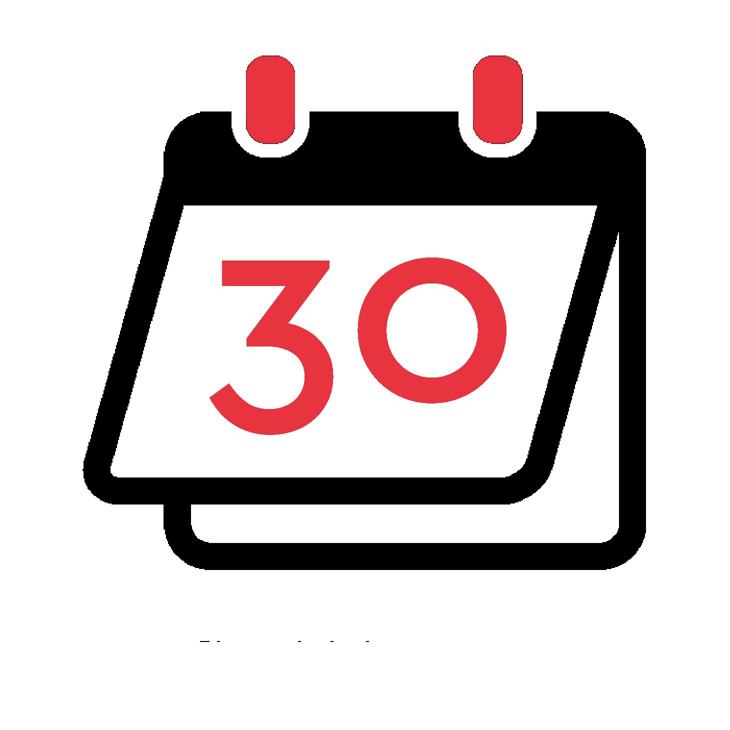 30 jour pour changer d'avis