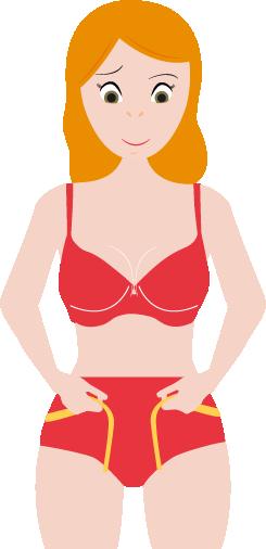 Maattabel onderlichaam