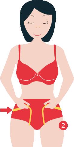 mesurer le tour de hanche
